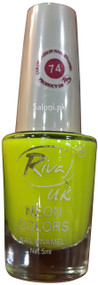 Rivaj UK Neon Colors Nail Enamel no 74