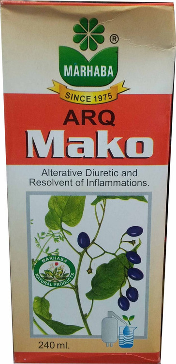 Marhaba Arq Mako (Alternative Diuretic And Resolvent of Inflammations