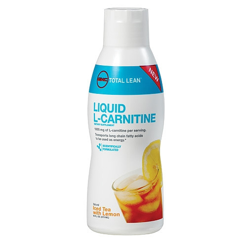 GNC Total Lean™ Liquid L-Carnitine - Iced Tea with Lemon