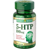 Nature's Bounty 5-HTP 100mg 60 Capsules