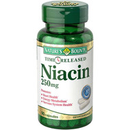 Nature's Bounty Niacin 250 mg , 90 Time Release Capsules