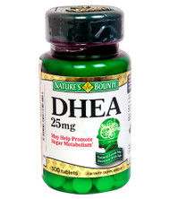 Natures Bounty DHEA 25mg 100 Tablets