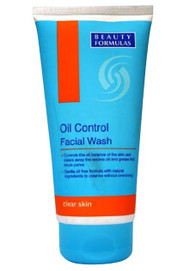 Beauty Formulas Oil Control Facial Wash 150ml