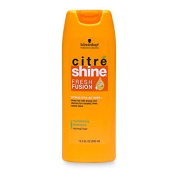 Schwarzkopf Citre Shine frsh Fusion Hair Shampoo 400 ML