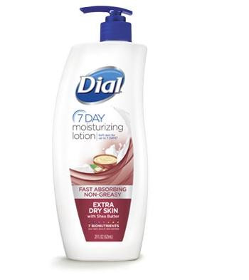 Dial 7 Day Moisturizing Lotion Extra Dry Skin