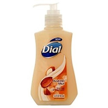 Dial Liquid Hand Soap With Moisturizer Almond Milk 5.5 Fl Oz