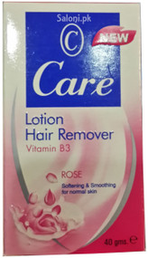 Care Rose Hair Remover Lotion Front