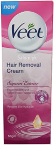 Veet Hair Removal Cream For Suprem Essence Front