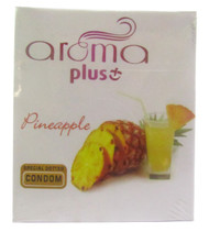 Aroma Plus Pineappple Special Dotted Condom 3 Piece(Front)