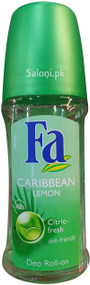 Fa Caribbean Lemon Roll on Deodorant 48h Front