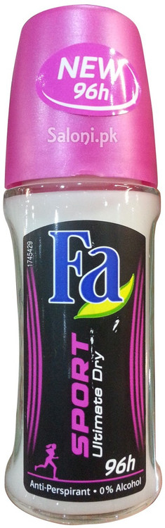 Fa Sport Roll On Deodorant Ultimate Dry 96h Front