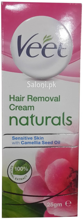 Veet Hair Removal Cream Naturals Sensitive Skin Front