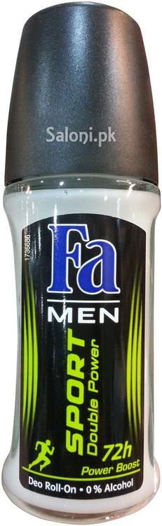 Fa Men Sport Double Power Deodorant Roll On 72h Front