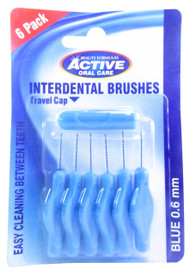 Beauty Formulas Interdental Brushes 0.6 mm 6 Pack