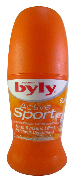 Byly Active Sport Deodorant 50 ML(Front)