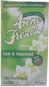 Anne French Jasmine Fragrance Hair Removing Lotion Front