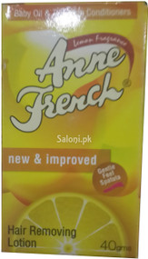 Anne French Lemon Fragrance Hair Removing Lotion Front