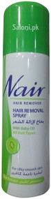 Nair Hair Removal Spray With Baby Oil Kiwi Extract Front