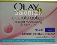 Olay Double Action All Night Moisturising Cream (Front)