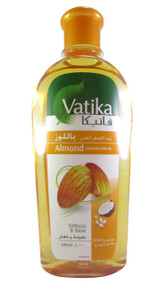 Vatika Almond Enriched Hair Oil(Front)
