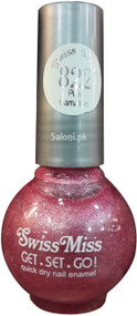 Swiss Miss Quick Dry Nail Enamel Pink Carnation 822 Front