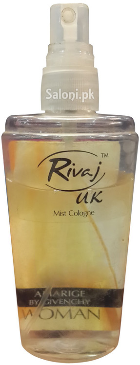 Rivaj UK Mist Cologne Amarige By Givenchy Front