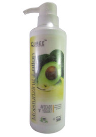 Qubee Moisturizing Lotion Avocado N Yogurt (Front)