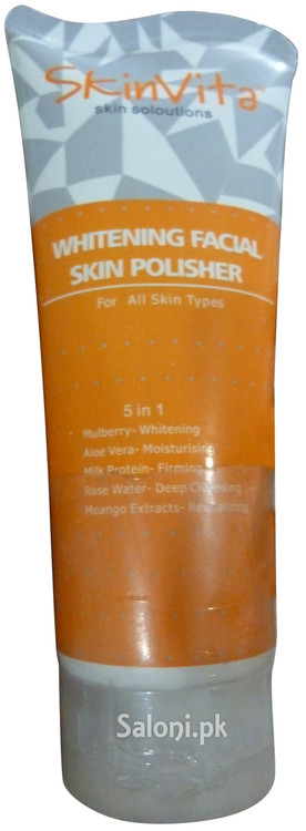 SkinVita Whitening Facial Skin Polisher Front