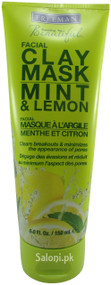 Freeman Mint & Lemon Facial Clay Mask Front