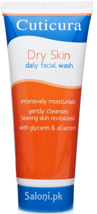 Cuticura Dry Skin Daily Facial Wash