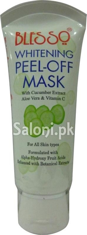 Blesso Whitening Peel-Off Mask (Front)