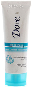 Dove Deep Pure Pore Care Face Wash
