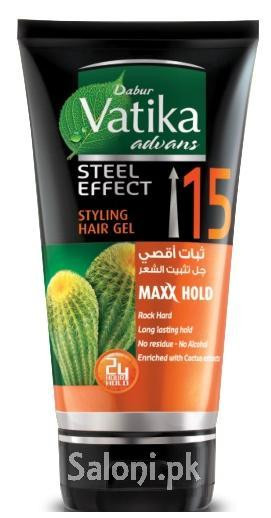 Dabur Vatika Advans Steel Effect Styling Hair Gel