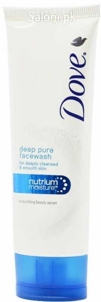 Dove Deep Pure Face Wash For Deeply Cleansed & Smooth Skin