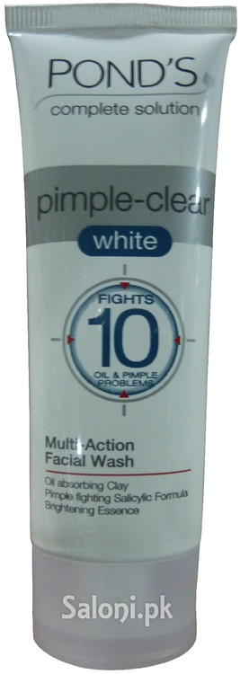 Pond's Complete Solution Pimple-Clear White Multi-Action Facial Wash Front