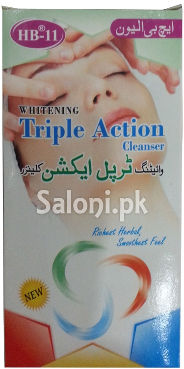 HB 11 Whitening Triple Action Cleanser (Front)