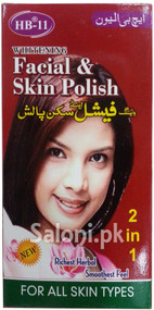 HB-11 Whitening Facial and Skin Polish (Front)