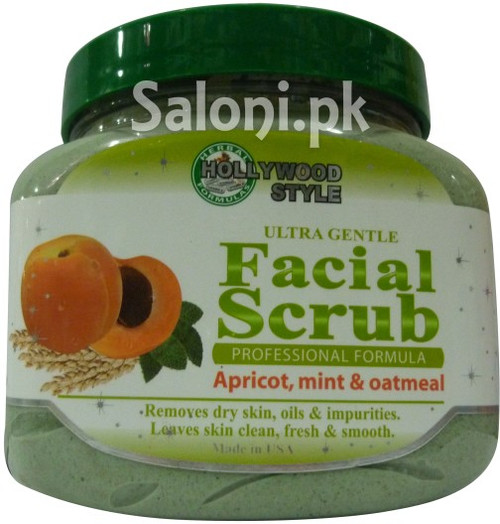 Hollywood Style Ultra Gentle Facial Scrub (Front)