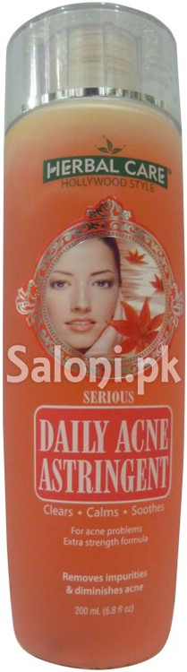 Hollywood Style Serious Daily Acne Astringent (Front)
