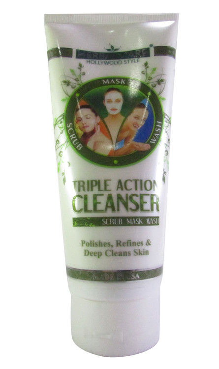 Hollywood Style Triple Action Cleanser (Front)