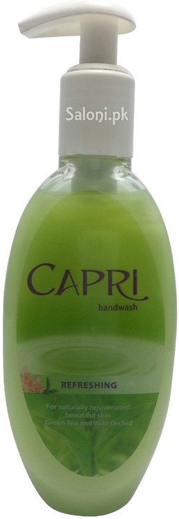 Capri Refreshing Hand Wash Front