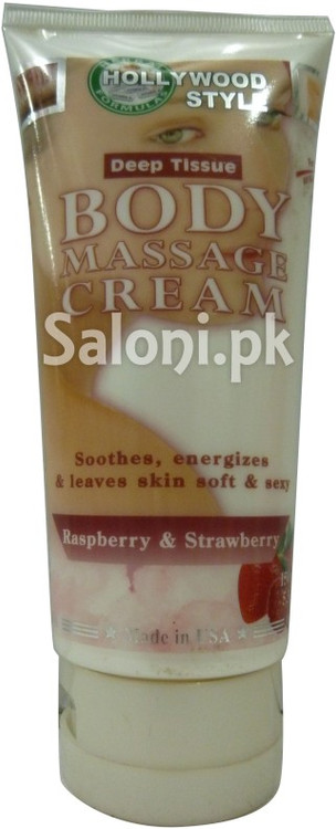 Hollywood Style Deep Tissue Body Massage Cream (Front)