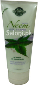 Hollywood Style Gentle Neem Gel Scrub (Front)