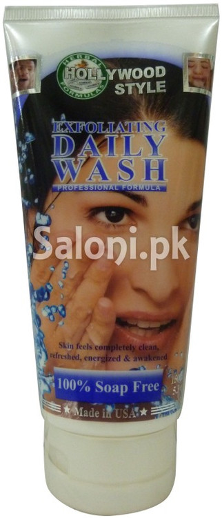 Hollywood Style Exfoliating Daily Wash (Front)