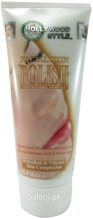 Hollywood Style Facial Skin Polish (Front)