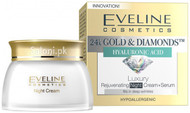 Eveline Luxury Rejuvenating Night Cream + Serum