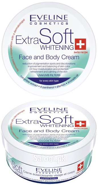 Eveline Extra Soft Face And Body Whitening Cream
