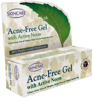Skincare Acne Free Gel With Active Neem