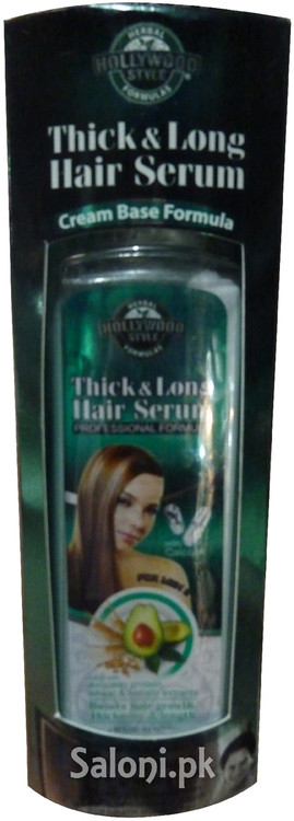 Hollywood Style Thick & Long Hair Serum Front