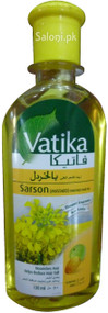 Vatika Sarson (Mustard) Enriched Hair Oil Front